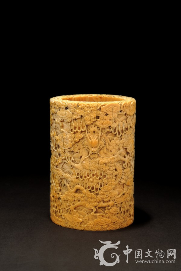 乾隆象牙雕刻八仙过海图片; 古天一秋拍精品展 明清象牙拍品引人瞩目